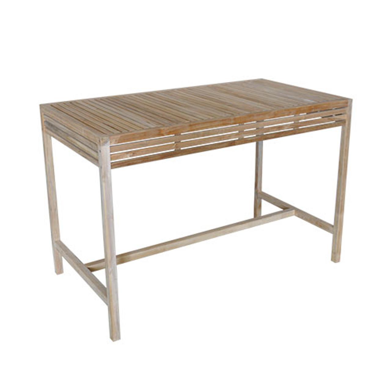 Breeze 150cm Natural Teak Bar Table
