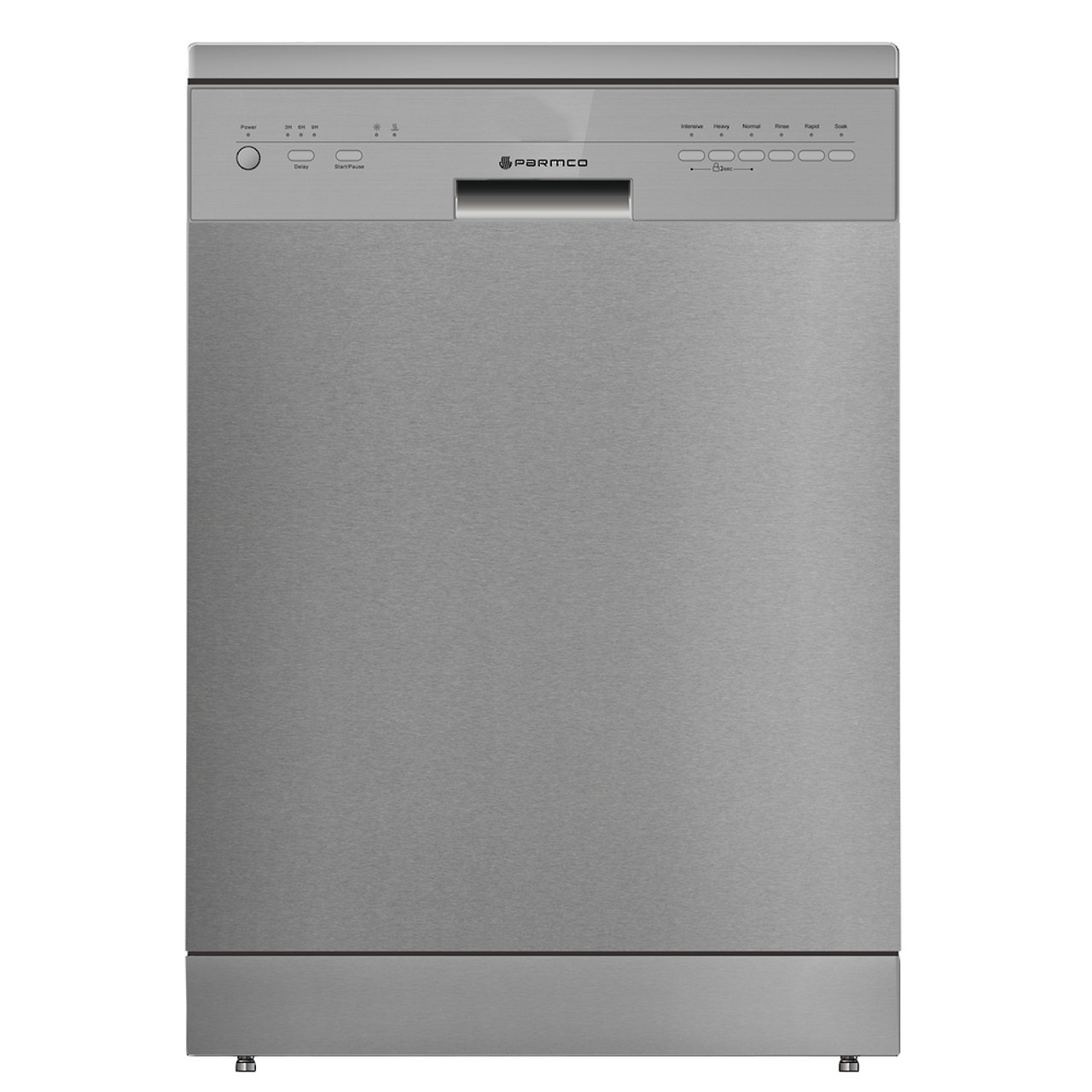 PARMCO 600mm Freestanding Dishwasher, Economy, Stainless Steel