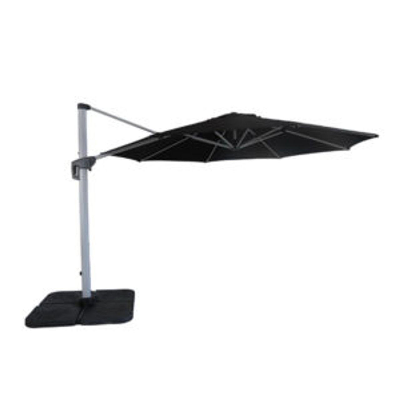 Lethaby3.3m Round Cantilever Umbrella with Olefin Shade