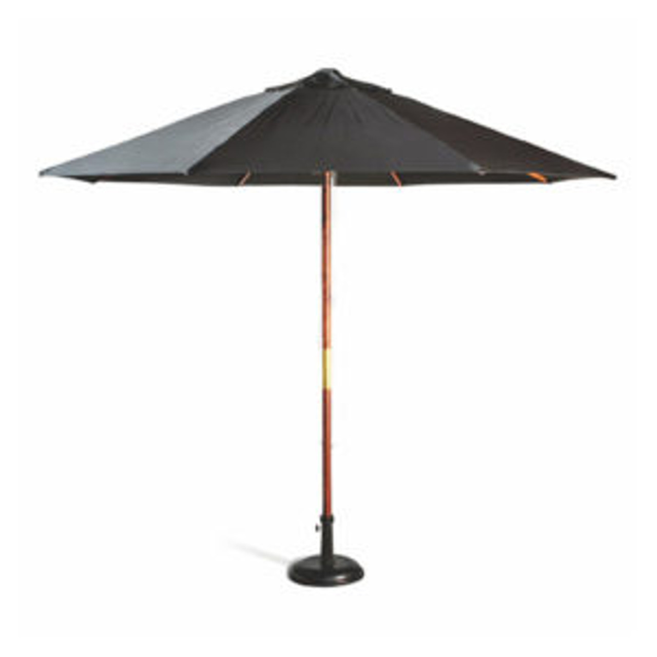 2.5m Market Umbrella - Wooden Frame with  Olefin Shade