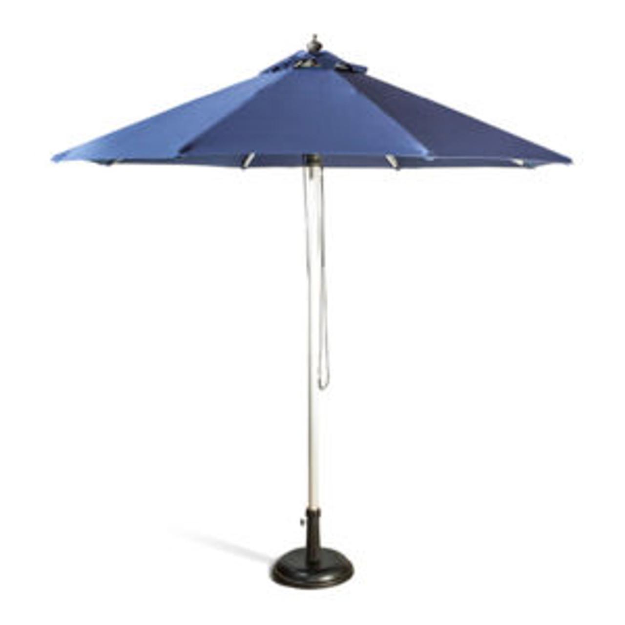 2.5m round Market Umbrella - Aluminium Frame with  Olefin Shade