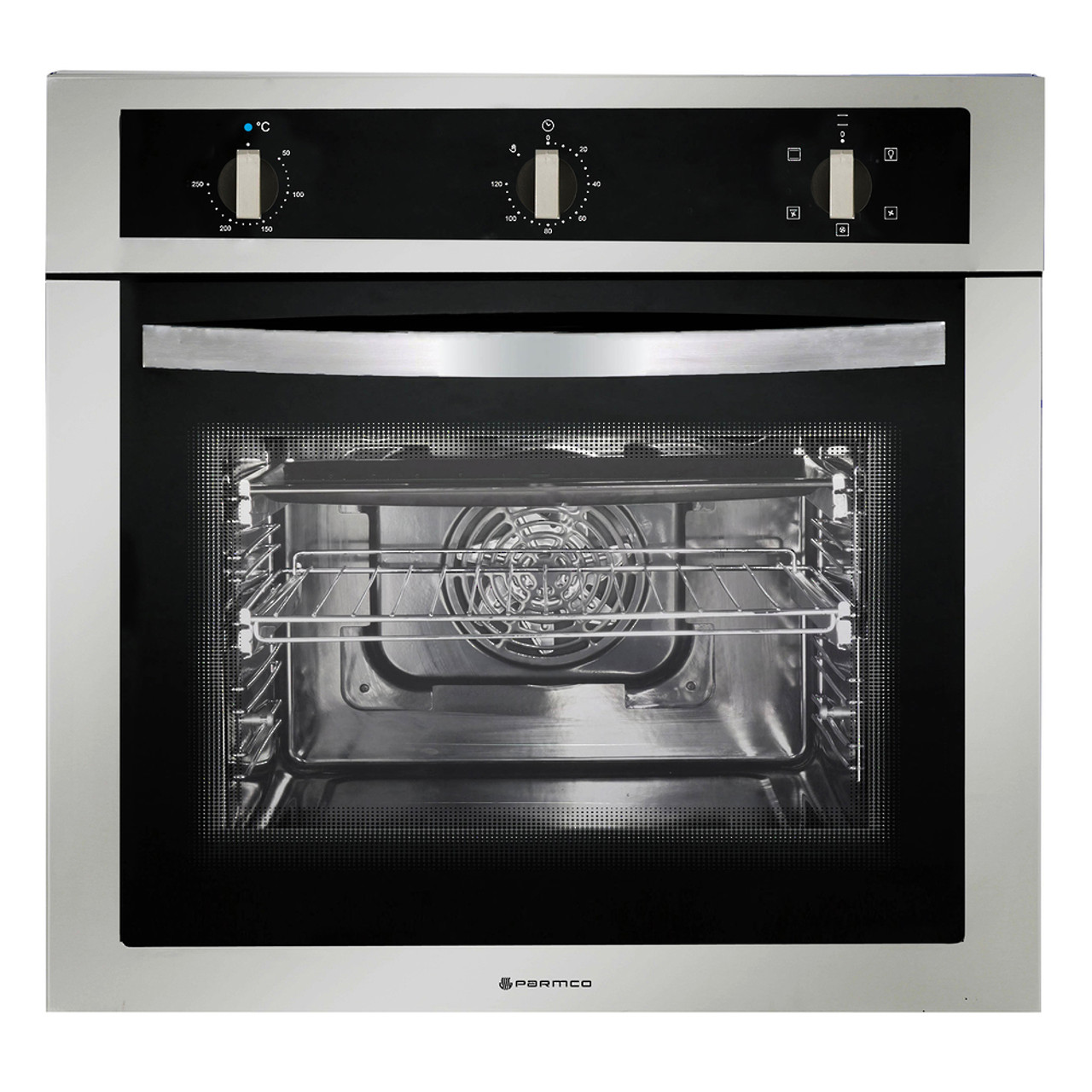 600mm 58Litre Oven, 5 Function, Stainless Steel