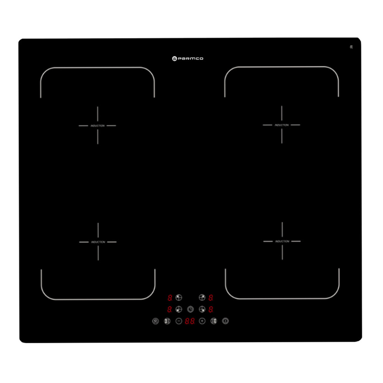 600mm Induction Hob, Zoneless, Frameless