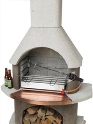 Buschbeck St Moritz BBQ Fireplace