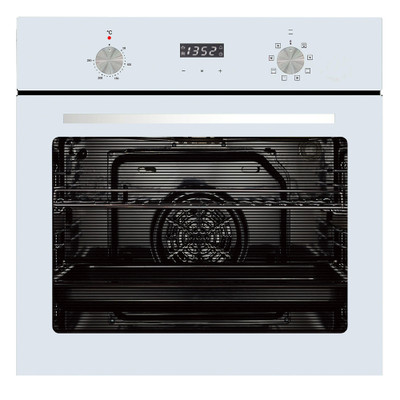 PARMCO  600mm 76Litre Oven, 8 Function, Stainless Steel / white