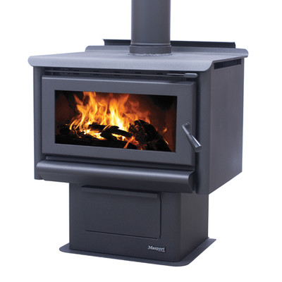 Mackenzie R10000 Freestanding Wood Burner with Ash pan