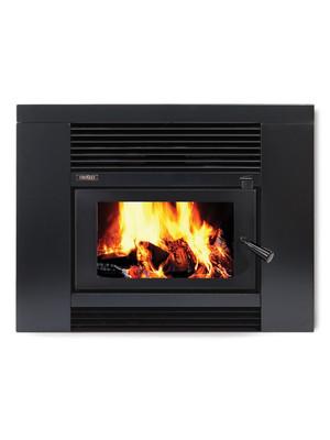 Metro LTD Smart Insert Firebox / Fascia VE Gloss Blk Combo