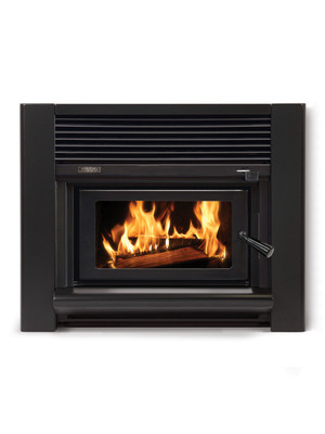 Metro ECO Insert Firebox / Trend Fascia VE Gloss Blk