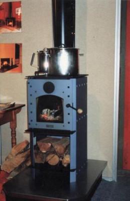 Warmington Studio Stove freestanding wood burner