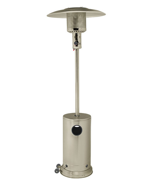 Gasmate Patio Heater - Silver