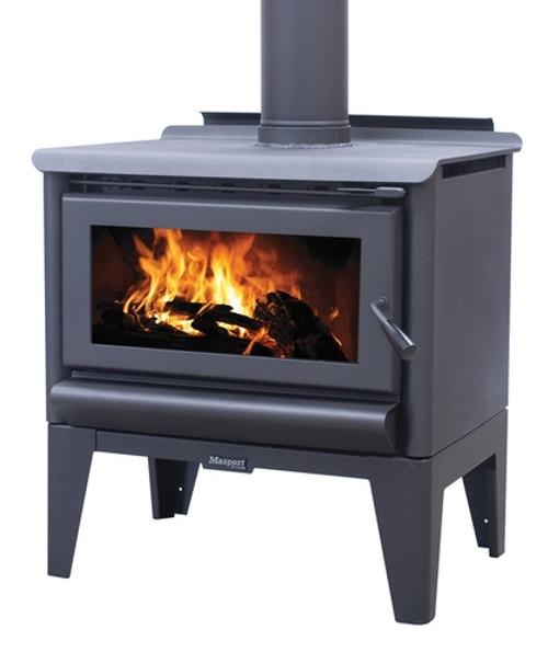 Masport R5000 Freestanding Wood Burner with Legs