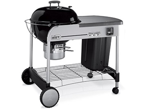 Weber Performer Premium Kettle with Gourmet Barbecue System Grill