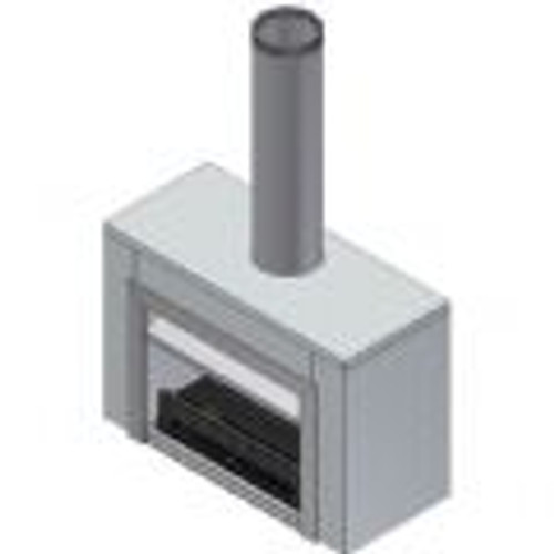 Warmington Freestanding Square Gas (Painted Black Only)