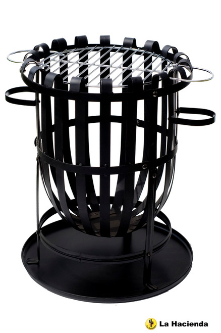 Riverlea Vancouver Steel Brazier with Grill