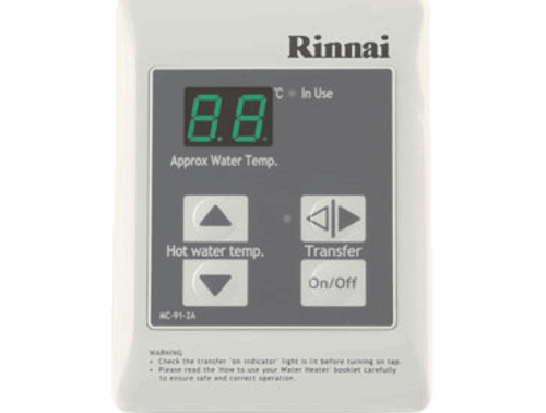 Rinnai Infinity Compact Digital Controller