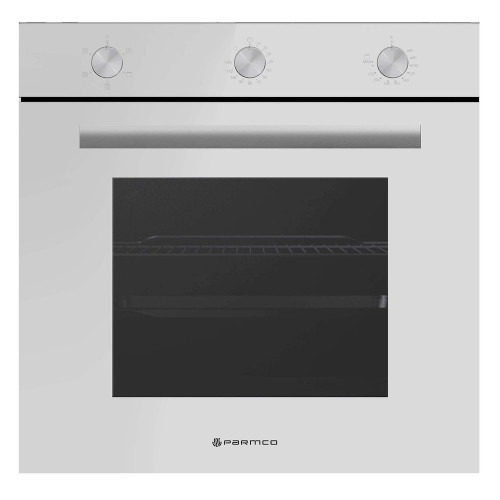 Parmco 600mm Built in White Oven (5 Functions)