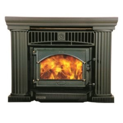 Firenzo Athena Wood Fire with Flush Door RU