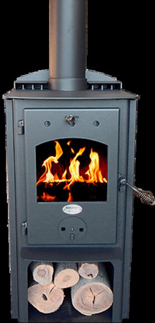 Wagener Leon Freestanding Multi Fuel Fire
