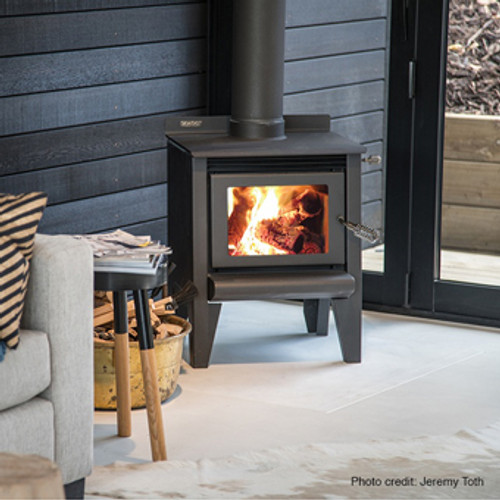 Metro ECO Tiny Rad Freestanding Wood Fire