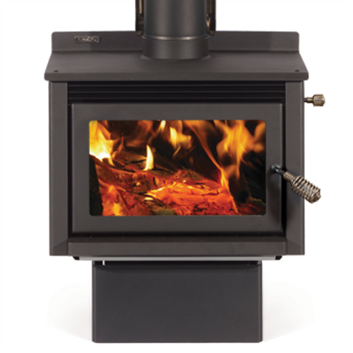 Metro Wee Rad Freestanding Wood Fire (Base)