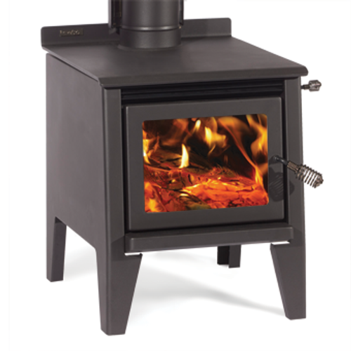 Metro Classic Rad Freestanding Wood Fire