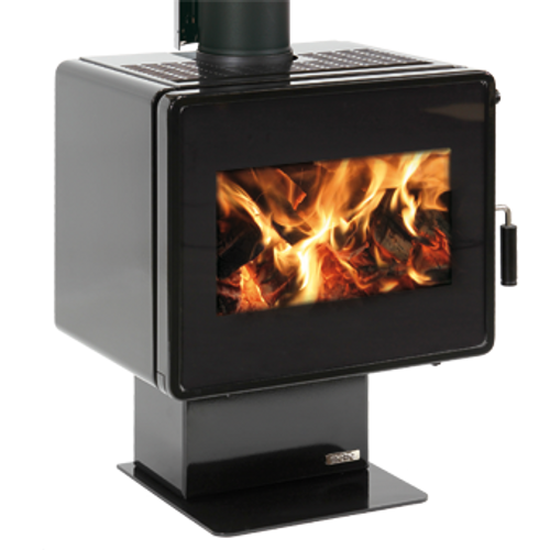 Metro Ambie Plus Freestanding Wood Fire