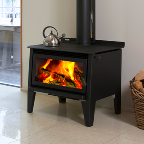 Metro Mega Rad Freestanding Rural Wood Fire