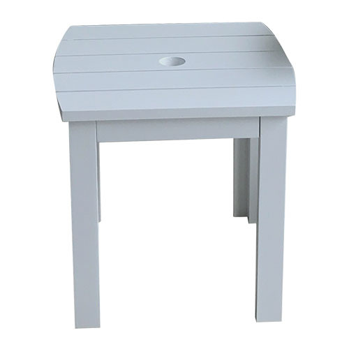 Antique Grey Cape Cod Style Square Table