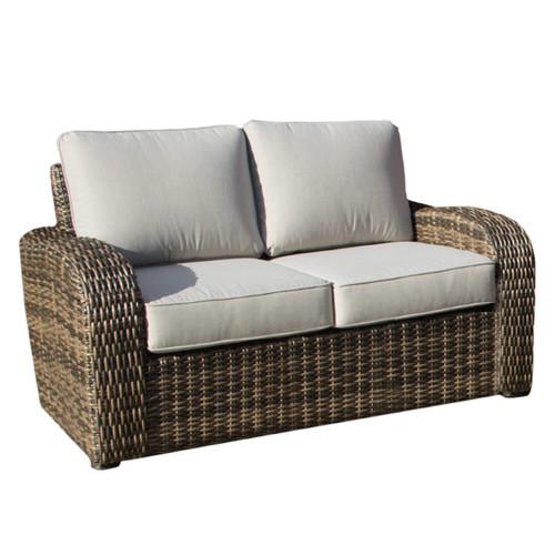 Boca Wicker Two Seater Outdoor Sofa