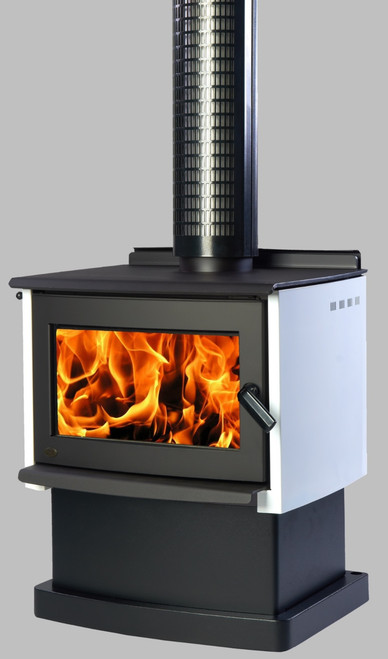 Yunca Monte with Base Wood Burner
