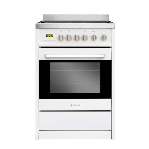 PARMCO 600mm 70 Litre Ceramic Freestanding Stove, White