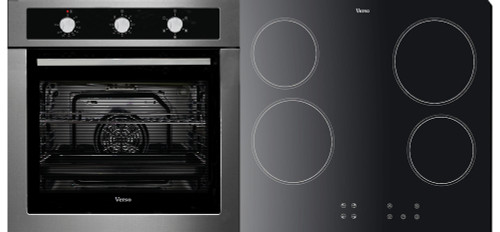 Verso 5 Function, Stainless Steel and 600mm Ceramic Cooktop