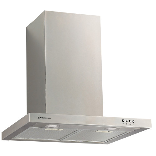 PARMCO 600mm Canopy, Slim Box, Stainless Steel, LED