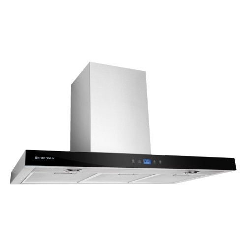 PARMCO 900mm Canopy, LCD Low Profile, Stainless Steel, LED