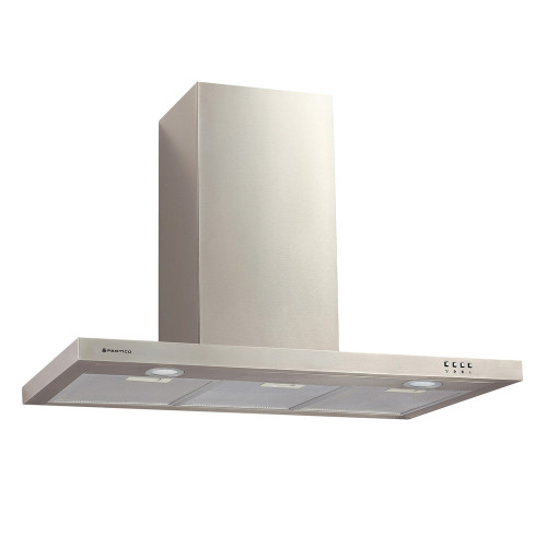 PARMCO 900mm Canopy, Slim Box, Stainless Steel, LED