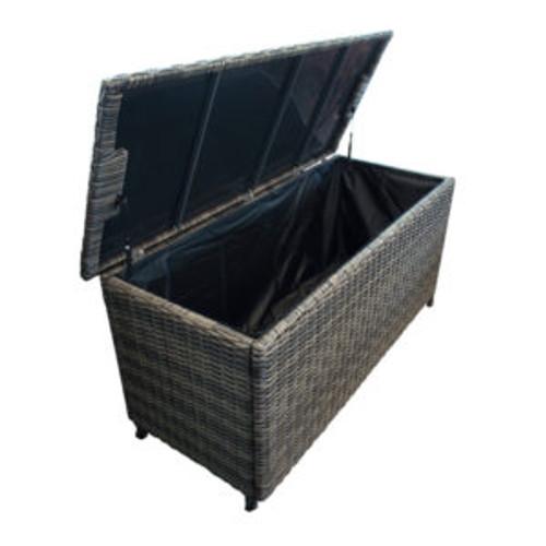 Wicker Cushion Box Large
