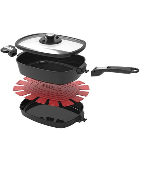 Weber® Q™ Ware Large Casserole/Frying Pan Pack