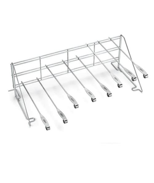 Weber® Elevations Grill Rack and Skewer Set