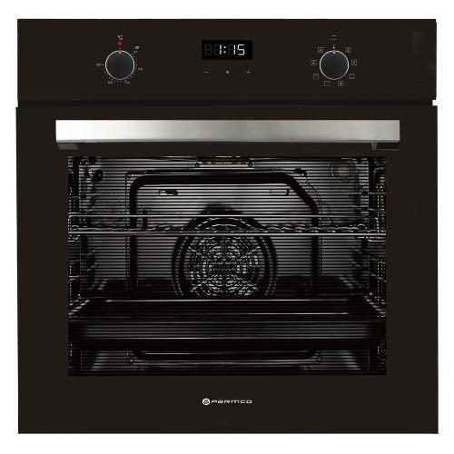 600mm 76Litre Oven, 8 Function, Black