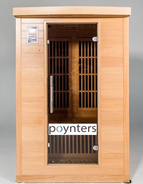 360 carbon Low EMF FAR infrared sauna model Miami 2 person