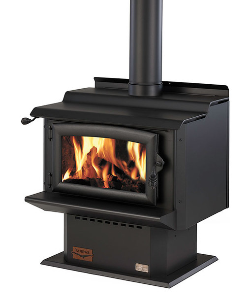 Woodsman Tarras MKIII Freestanding Woodburner with Wetback