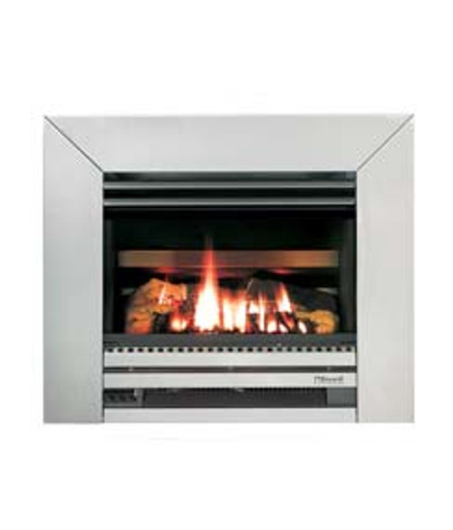 Rinnai Compact inbuilt gas fire