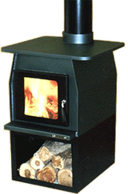 Wagener Cooktop Freestanding Wood Burner