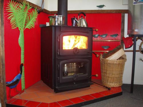 Warmington Cardrona cooker freestanding wood burner