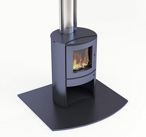 Bosca Firepoint 360 Freestanding Wood Burner