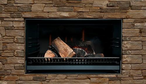 Escea EW5000 Outdoor Solid Fuel Booking Fire