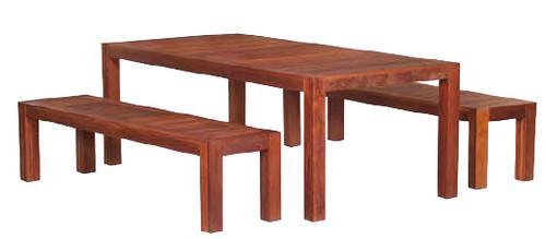 Sheraton Lyon 1.6M Bench Dining Set