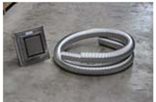 Escea Horizontal Powered Flue Kit