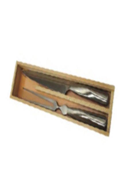 Knife & fork carving set