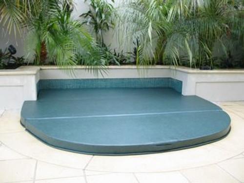 Spa pool hard cover